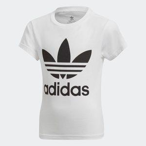White & Black Adidas Tee